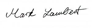 Signature Mark Lambert